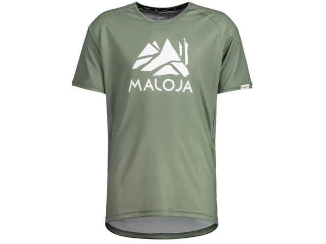 Maloja SanetschM. Multi 1/2 Shortsleeve Multisport Jersey Men, cypress